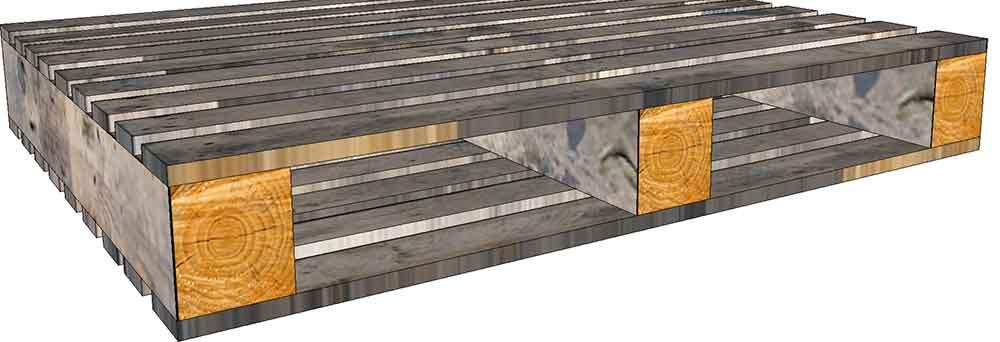 تولید مکانیزه پالت چوبی